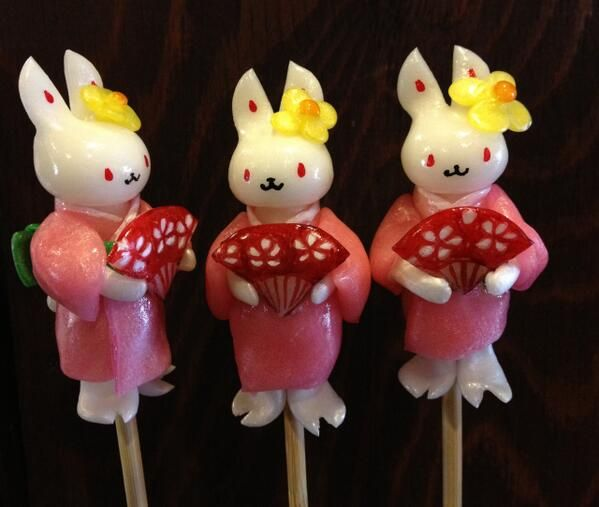 Japanese Traditional Lollipops by Amezaiku Yoshihara