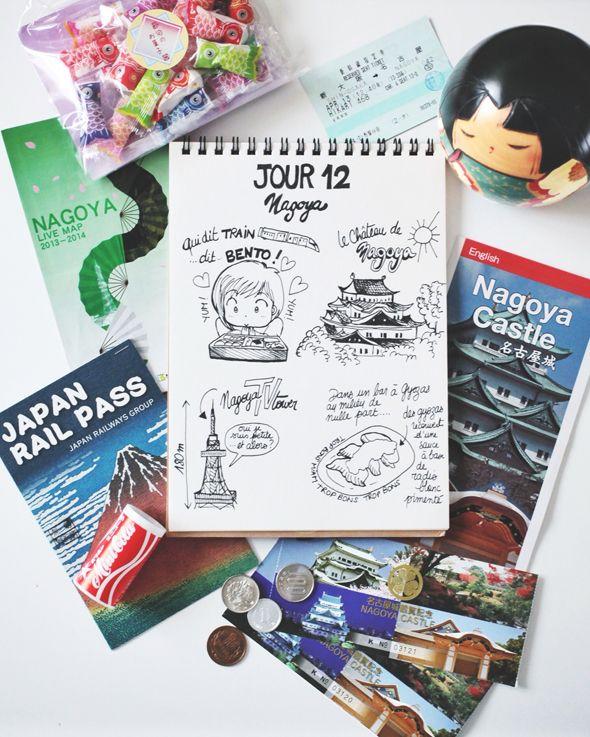 My Japan Travel Diary  Day 12 : Nagoya www.tokyobanhbao.com
