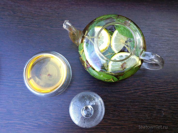 Классический марокканский чай состоит из зеленого чая, большого количества мяты и сахара. #ЧайныйГородок #Напиток #Чай #Мароко