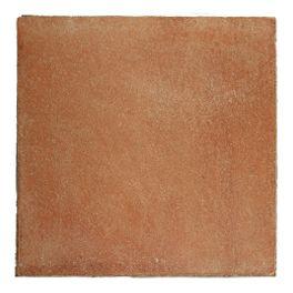Rouge Façonnée à la main, la gamme Patiné Main se caractérise par des nuances naturelles sable/rosé, rouge/rosé et marron sienne  Dimensions : 20x20x2, 30x30x2, 20x40x2, 16x16x1.8, 13x13x1,7 cm