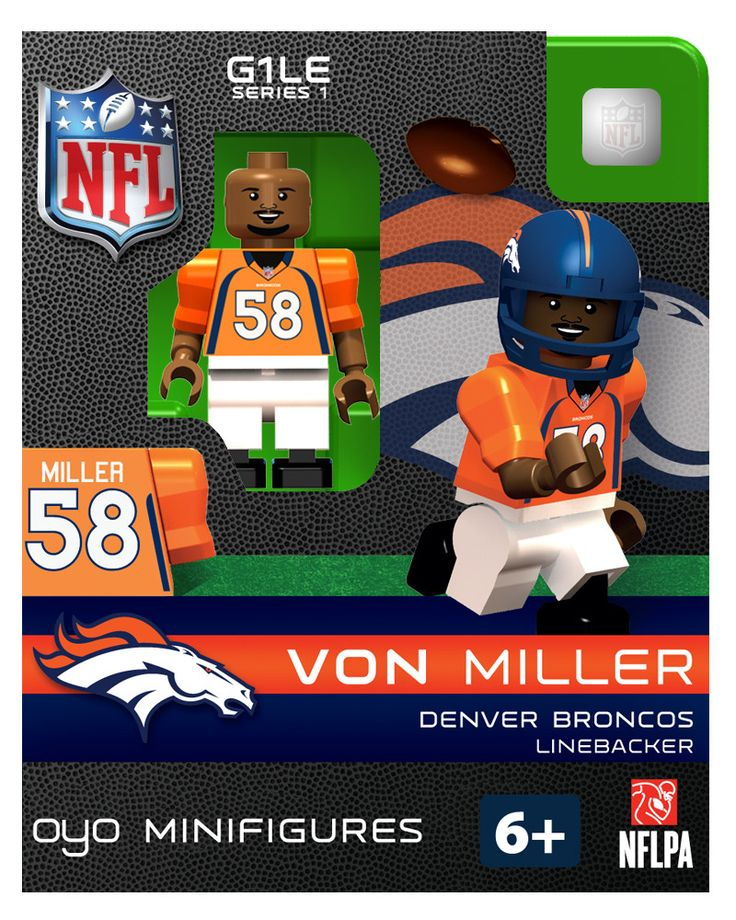 generation one limited edition nfl oyo minifigure figure comes with a football team helmet