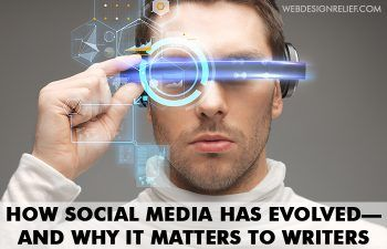 How has social media changed the way you communicate with your readers? http://writersrelief.com