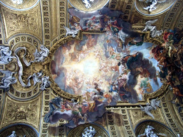 Images about baroque interiors and architecture on