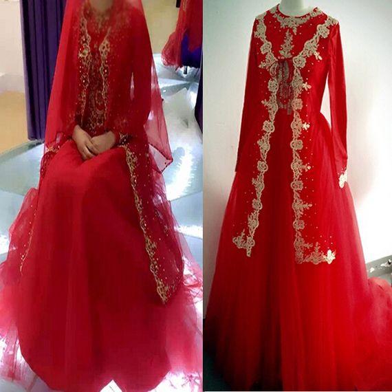 새로운 2016 웨딩 드레스 스튜디오 촬영 이슬람 후이 무슬림 말레이 드레스 옷