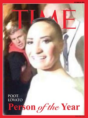 Poot Lovato. Quite possibly the weirdest article I have ever read.