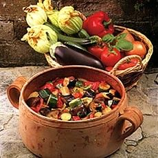 super-healthy (and cheap) ratatouille. make while the veg is in season, freeze for when it's not.