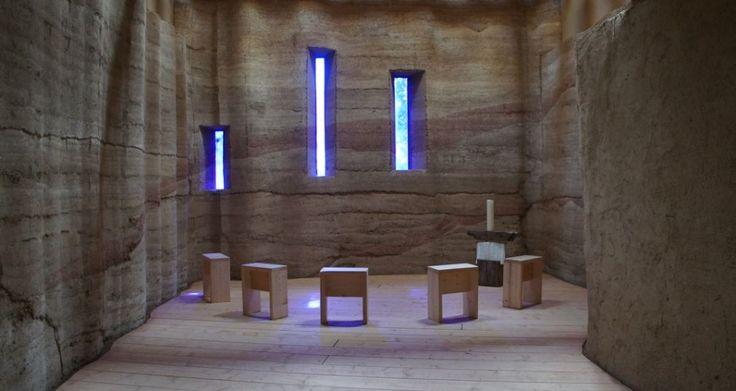 Raum der Stille - innen / room of the silence - inside