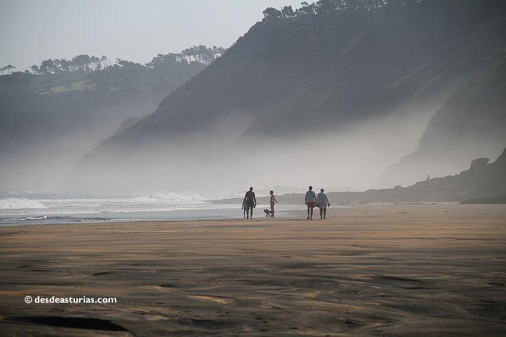 Playa de Otur: playas bonitas de Asturias. Beautiful spanish beaches https://www.desdeasturias.com/playa-de-otur/