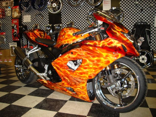 List Of Motorcycle Shops That Customize Sport Bikes.
