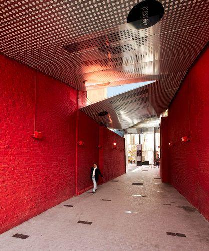 Atelier 9.81 — Passage piéton couvert, Tourcoing centre ville
