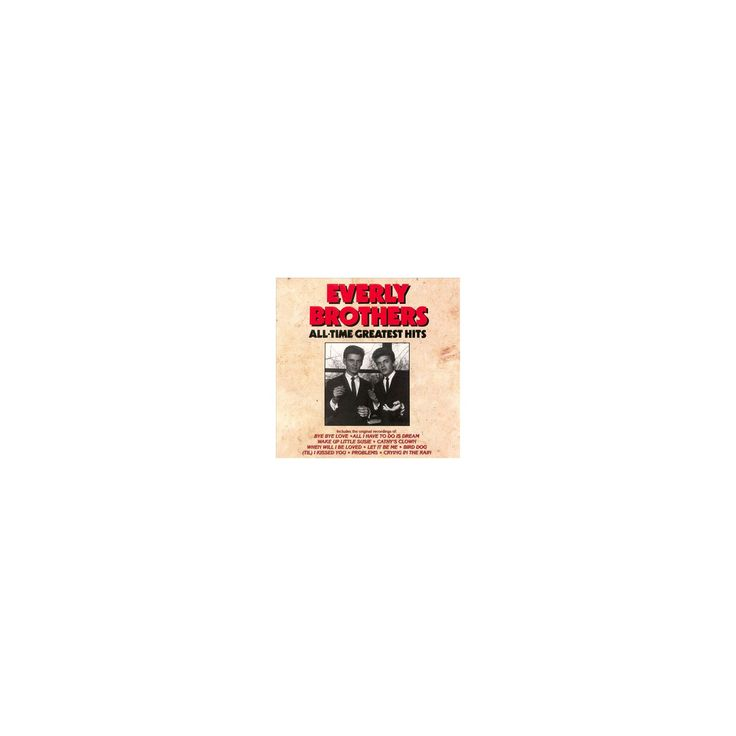 Everly brothers - All time greatest hits (CD)