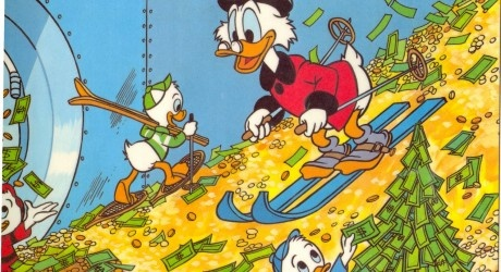 The Billfold tells you how much money it would take to realistically recreate the Scrooge McDuck 'Gold Coin Swim'!
