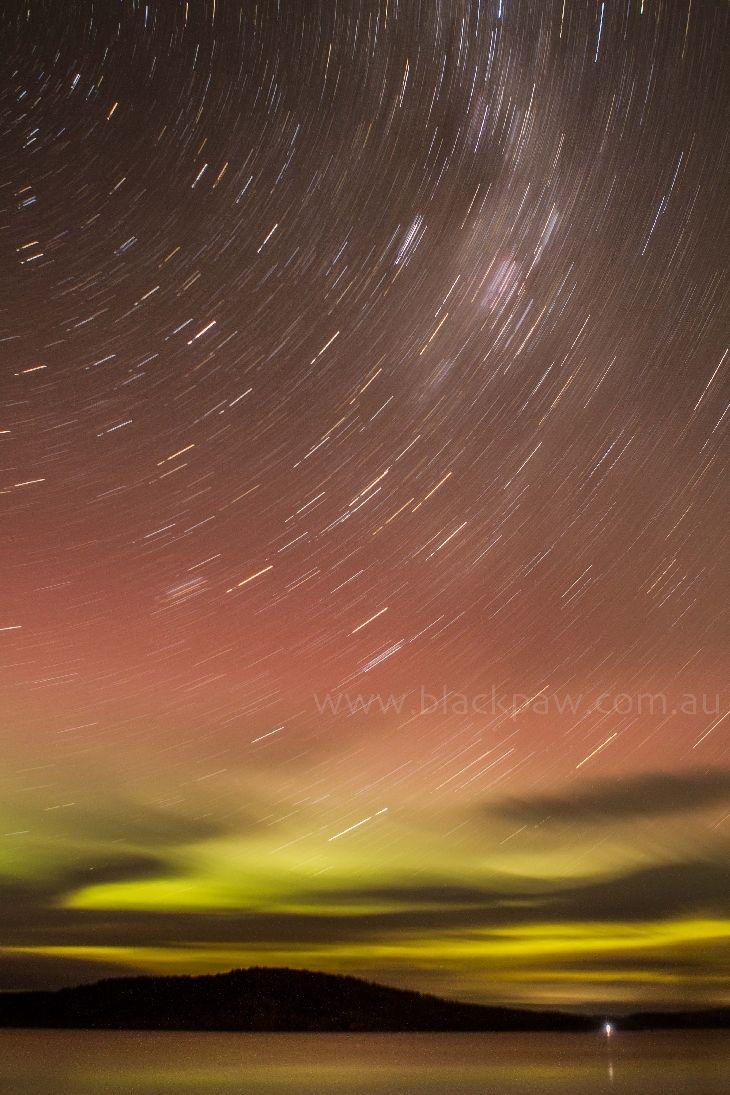 Aurora Australis - South Arm, Tasmania, Australia