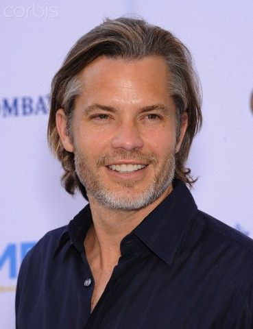 Timothy Olyphant. I kinda like him with longer hair...