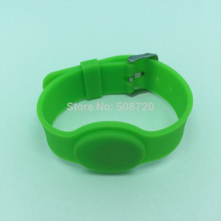 10 PCS Watch style NTAG203 RFID Silicone NFC Bracelet #Affiliate