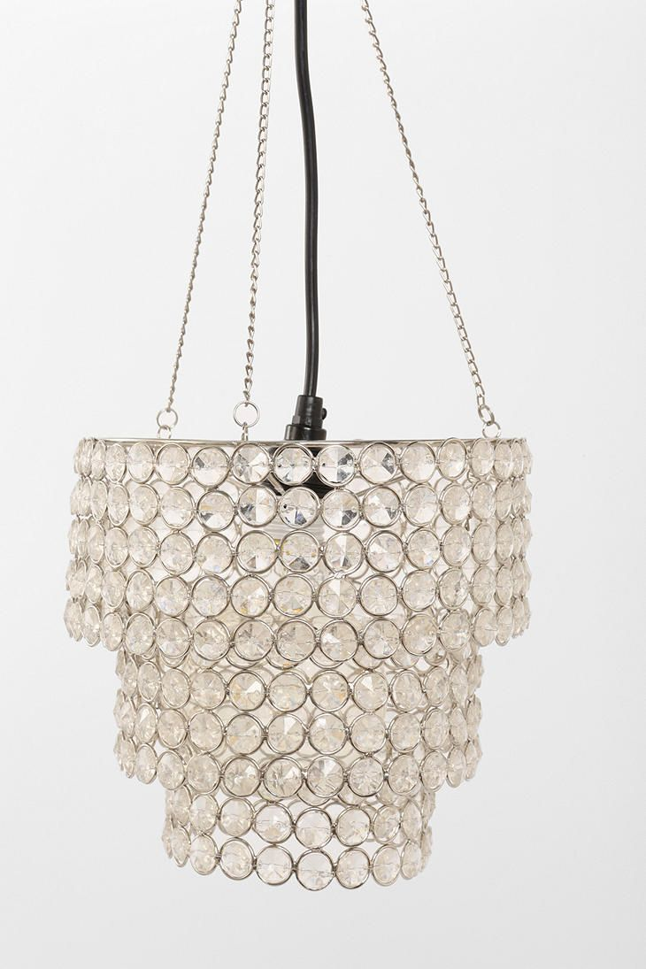 126 best lighting images on pinterest kitchen lighting lamps and triple tiered glass bead pendant shade urban outfitter arubaitofo Image collections