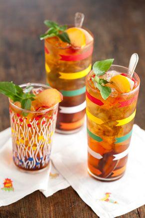 Paula Deen Sweetened Tea with Simple Syrup