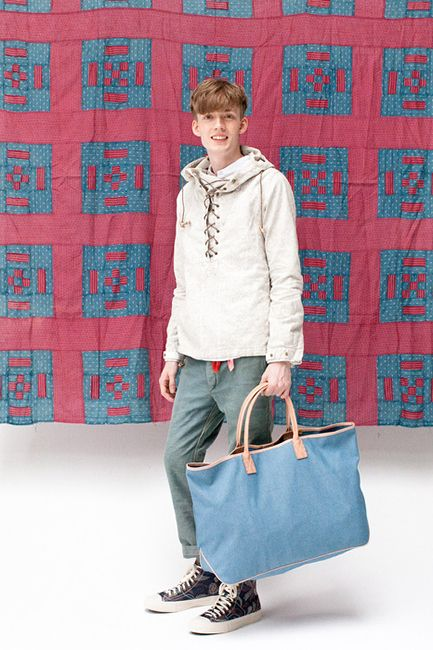 """Image of visvim 2014 Spring/Summer """"Dissertation On a Happiness with No Country"""" Lookbook"""