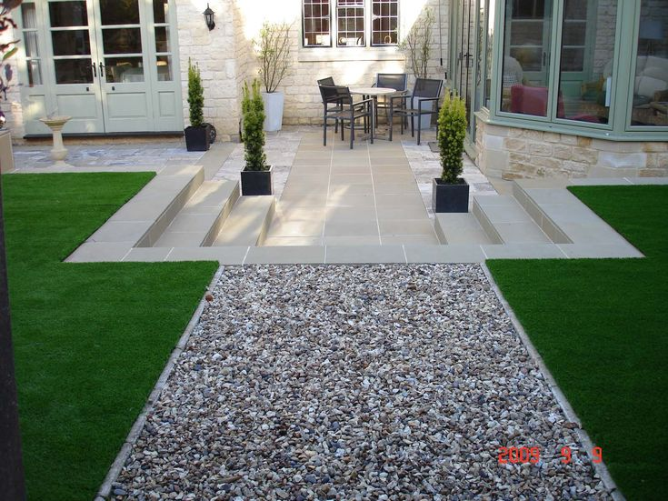 Artificial grass idea