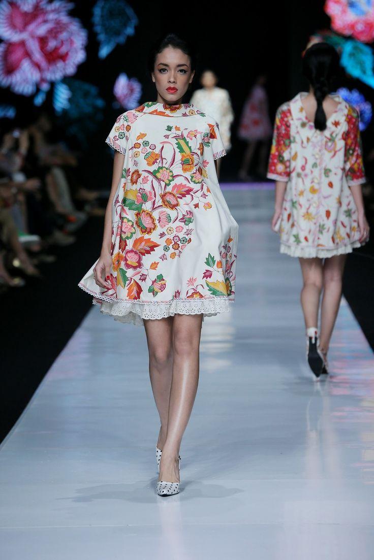 Edward Hutabarat Batik Dress