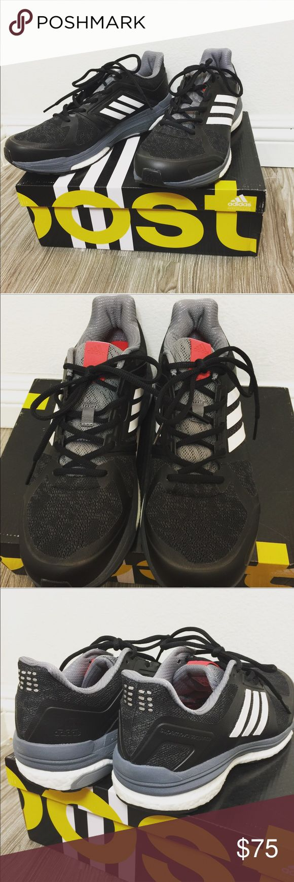 NEW Adidas Boost technology Supernova Sequence 9 Never been used Adidas Supernova Sequence 9 with midsole Boost technology. Meant for performance hiking, gym, running, or trail. Adidas Shoes Athletic Shoes