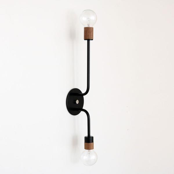 Vertical sconce - onefortythree & 254 best Lighting images on Pinterest | Ceiling lighting ...