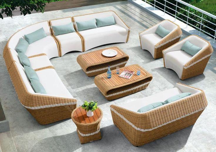 Amiga outdoor lounge set Large