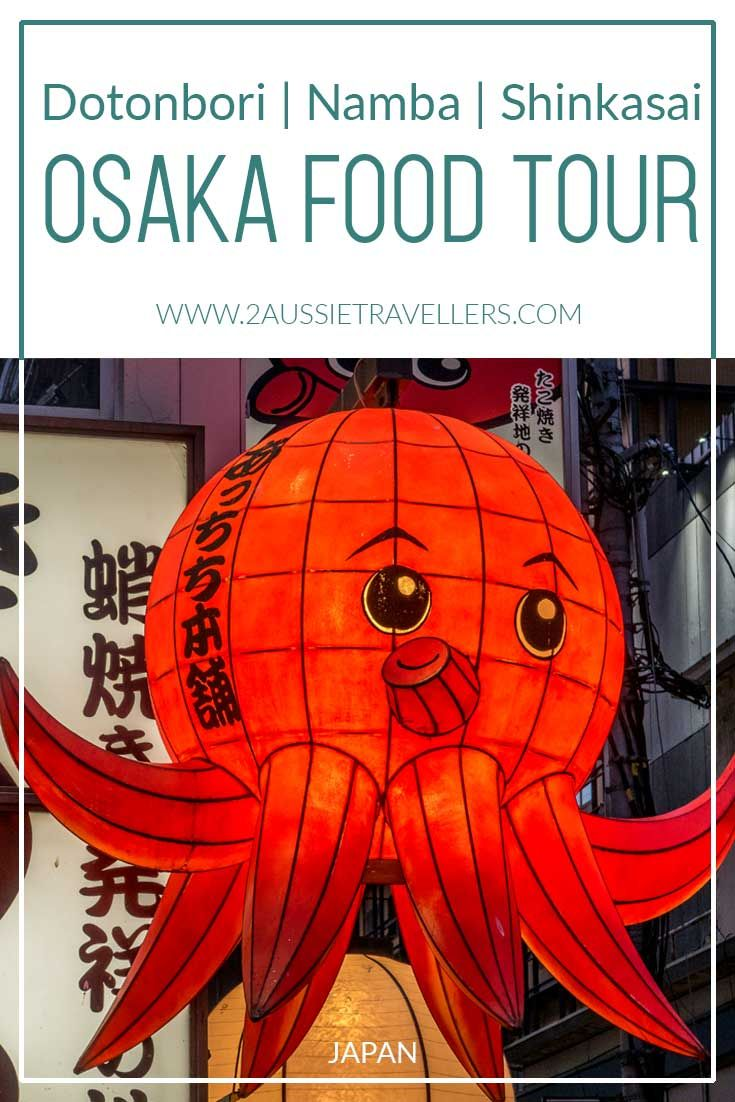 Indulge in the city's unique flavours on this Osaka food tour