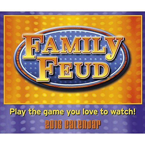 Based on the popular game show, #Family #Feud Desk Calendar is a perfect way to challenge your family or co-workers for points every day! Name the top things that...