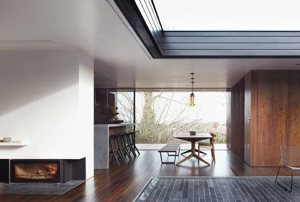 Mid Century inspired house designed by Luke Zuber.  CLICK THE PIC to see more.