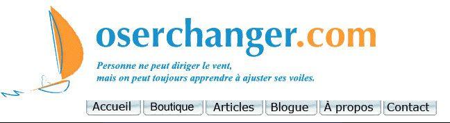 Le changement; banque d'articles sur le changement