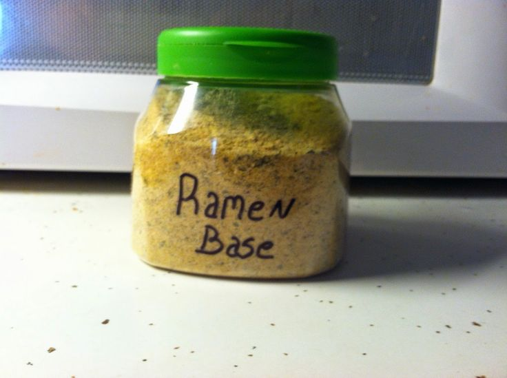 You know how sometimes you buy Ramen because it is cheap? I figured there must be a better - and probably even cheaper - way. Going to try this base idea.