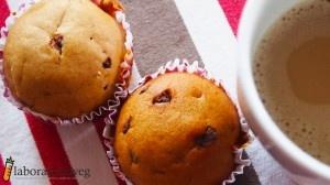 Muffin con gocce di cioccolato   #vegan