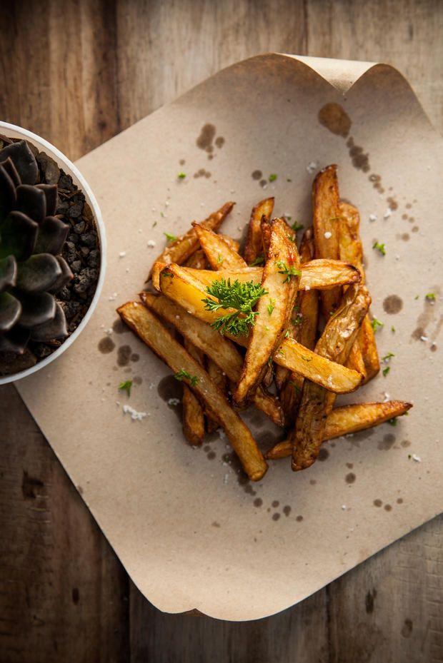 Der beste #Trick für garantiert #knusprige #Kartoffelspalten