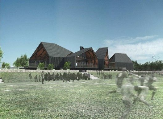 Old Grangonian Club competition entry / LAND Arquitectos