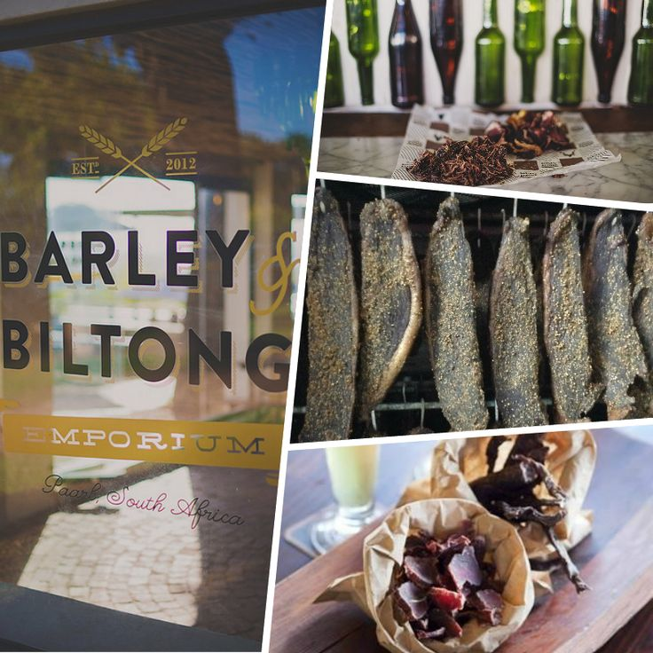 Barley & Biltong is now making their own Beef Biltong! Using only the best cut meat and a secret spice mix from Barley & Biltong's chef, Philip Pretorius, it is then hung for a week or more and voilà! We have some of the best biltong in the district! For inquiries: info@barleyandbiltong.co.za / 021 863 4539. Open Sunday - Thursday: 10:00-17:00 and Friday - Saturday: 10:00-18:00. www.spiceroute.co.za #Barley&Biltong #SpiceRoutePaarl #OwnBiltong