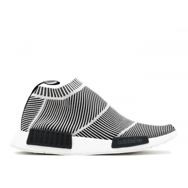 NMD City Sock PK Core Black Vintage Most Expensive White Sneaker