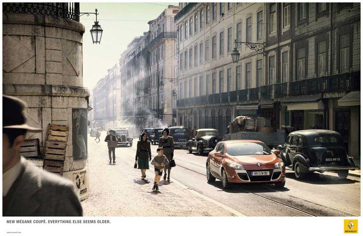 Renault Mégane Coupé - Everything else seems older