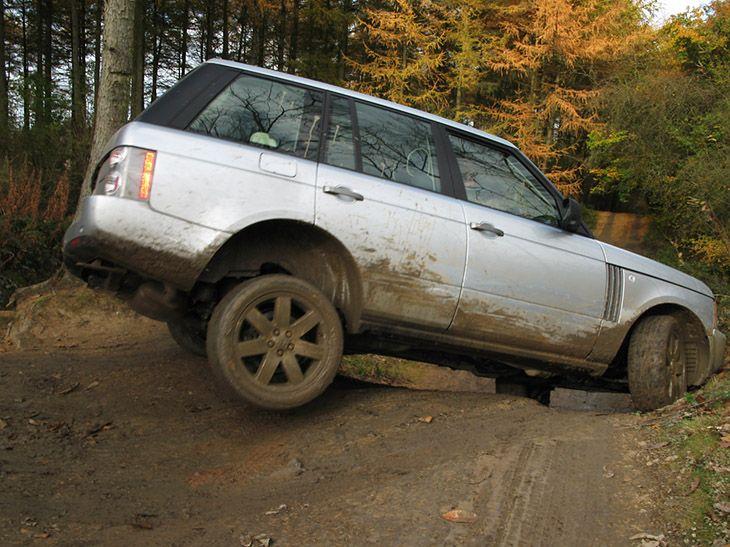 Off Road Range Rover