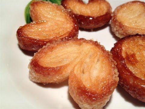 Come Fare i Ventagli di Pasta Sfoglia - Ricette Dolci e Cucina - YouTube