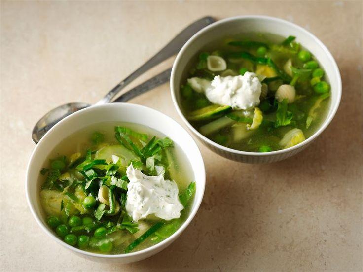 Vihreä minestronekeitto
