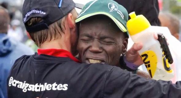 Two Oceans marathon in Cape Town ... Stephen Muzhingi