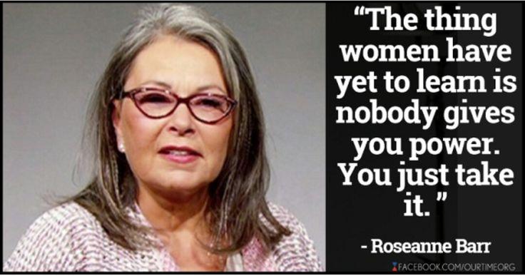 Roseanne Barr spittin some truth