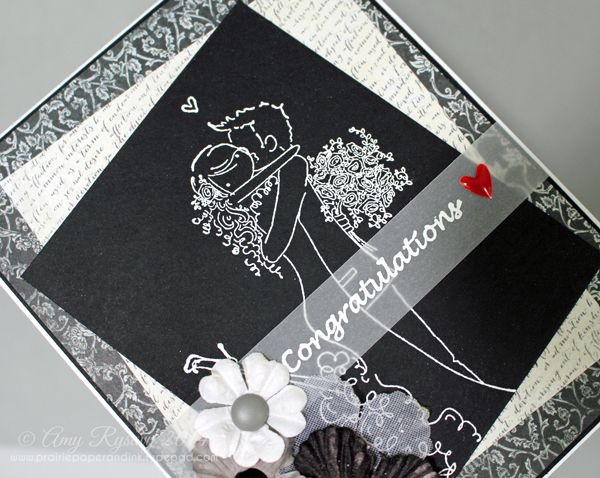 """Skip the store-bought wedding cards and make your own personalized well wishes instead. Click for a FREE tutorial on how to wedding cards with """"wow"""" factor."""