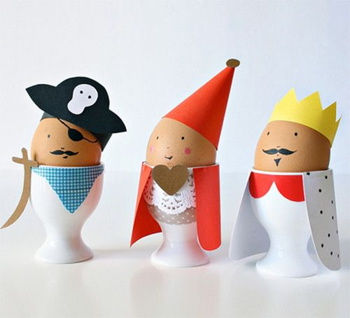 Printable Easter Egg Costumes