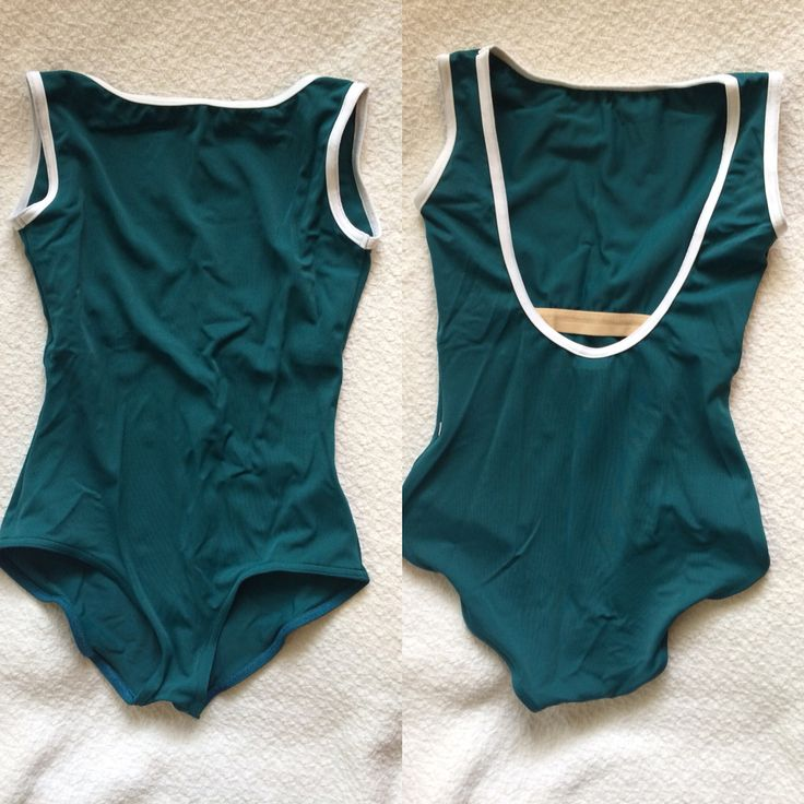 Sofiane Yumiko leotard in T-Altura and N-White trim