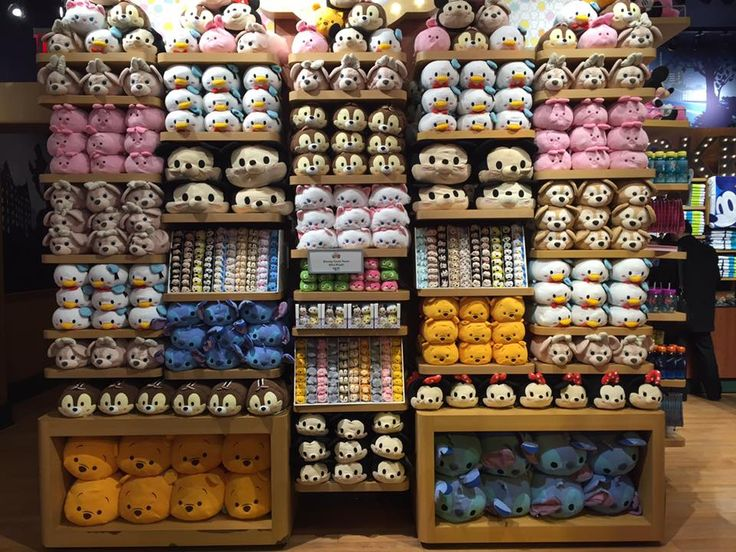 Tsum Tsum selection from the Times Square Disney Store in New York City!