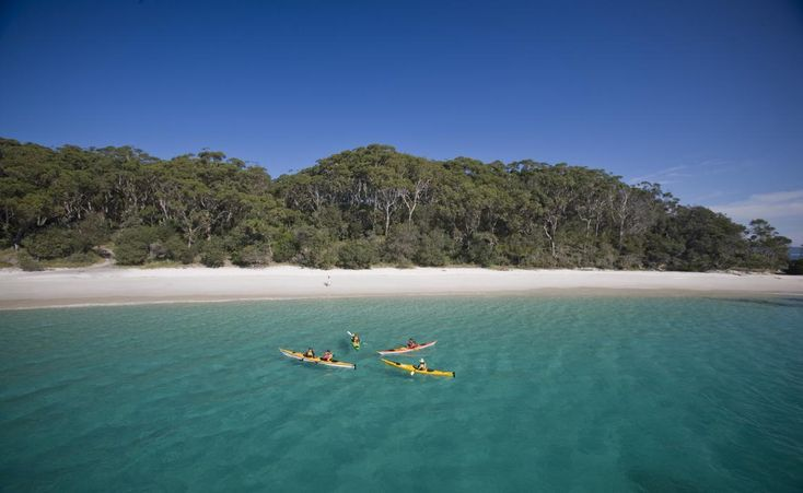 Kayaking at Murrays Beach in Booderee National Park - Jervis Bay