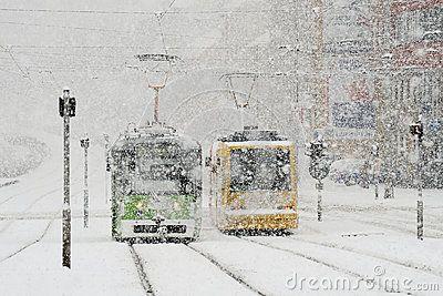 Moravia in winter, Brno