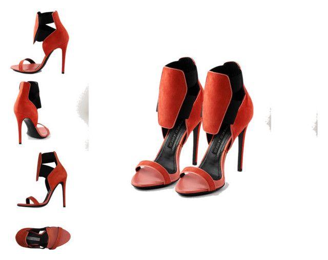 """Rinastore - Gianmarco Lorenzi Sandals"" by pegiiisu ❤ liked on Polyvore featuring Gianmarco Lorenzi"